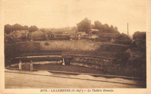 Vintage Postcard The Roman Theatre, Lillebonne, Normandy, France B51