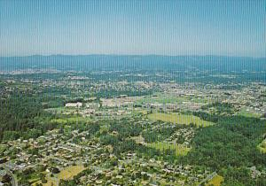 Canada Victoria Aerial View University Of Victoria