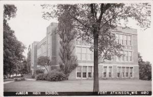 RP: FORT ATKINSON , Wisconsin , 1930-40s; Junior High
