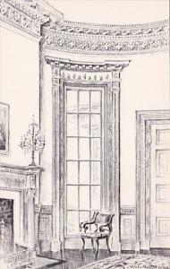 South Carolina Charleston Nathaniel Russell House The Oval Drawing Room