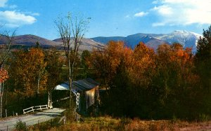 VT - Lamoille County. Old Covered Bridge