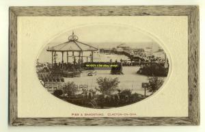 tp2747 - Pier & Bandstand , Clacton-on-Sea , Essex - postcard