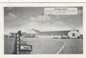 LANSING , Michigan, 1954 ; Rancho Motel