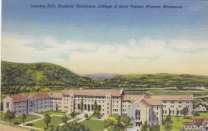 Lourdes Hall Student's Residence, College of Saint Teresa, Winona, Minnesota,...