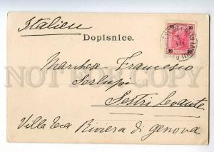 213993 CZECH JIHLAVA Greetings from view Vintage RPPC