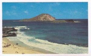 Rabbit Island off of Oahu, Hawaii, 40-60s
