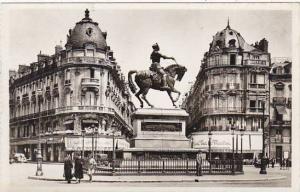 France Orleans Place du Martroi et Statue de Jeanne d'Arc Real Photo