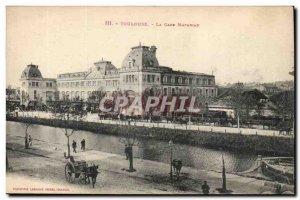 Toulouse Old Postcard The Matabiau