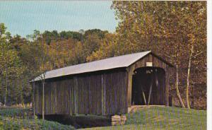 Ohio Muskingum County #31 Salt Creek Covered Bridge