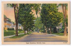 Upper Broadway, Norwich CT