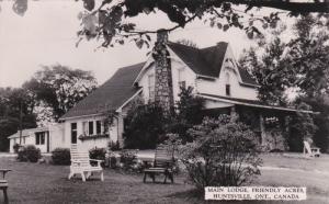 RP: Main Lodge , Friendly Acres , HUNTSVILLE, Muskoka , Ontario , Canada , 30...
