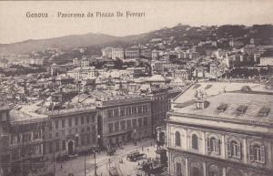 Genova, Panorama da Piazza De Ferrari, Liguria, Italy, 00-10s