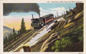 COLORADO, 1900-1910's; Timberline, Pikes Peak Cog Road
