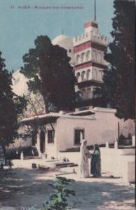 Algeria Alger Mosquee Sidi-Abderhaman