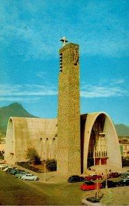 Texas Lower Rio Grande Valley Catholic Chuech InMonterrey Old Mexico