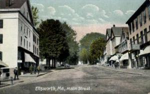Main St. Ellsworth ME Unused