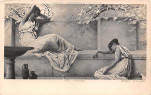 Fashion Artistic Women, Ladies, Day Dreams, Henry Ryland 1904