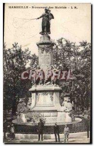 Old Postcard Marseille Monument Mobile
