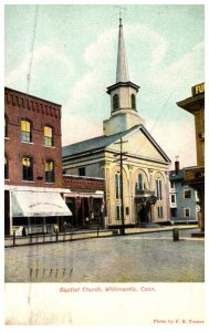 Connecticut Willimantic , Baptist Church