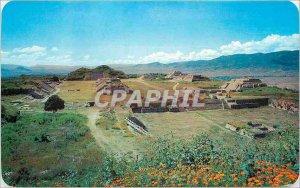 Postcard Modern Ruins of the pre-hispanic City of Monte Alb�n Oaxaca Mexico.