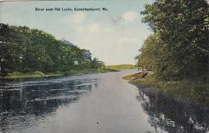 Maine Kennebunkpost River Near Old Locks