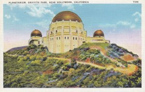 Planetarium , Griffith Park , HOLLYWOOD , California , 1910-30s