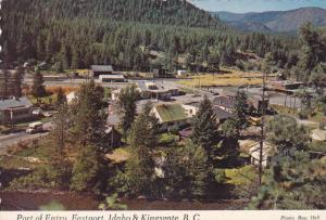 Moyie River, Port of Entry, U.S.-Canadian Line at Eastport, Idaho, and Kingsg...