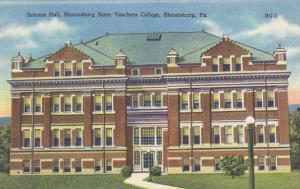 Science Hall Bloomsburg State Teachers College Bloomsburg Pennsylvania