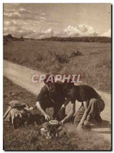 Postcard Old Scout Jamboree