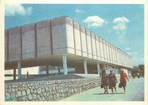 Uzbekistan Samarkand museum of history architecture Postcard