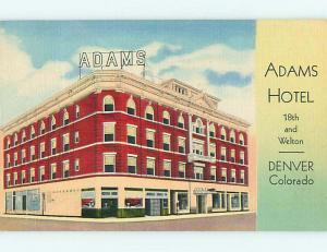 Linen ADAM HOTEL & COFFEE SHOP RESTAURANT Denver Colorado CO u8944