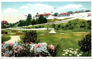 Michigan Mackinac Island The Old Fort Detroit Publishing