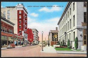 North Arthur Avenue Pocatello Idaho Used c1941