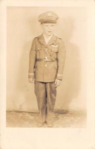 Beckley WV~Lewis Howard Kittle III~6 Year Old in WWII Uniform~Dentist~1944 RPPC