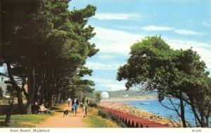 Vintage Dorset Postcard, Avon Beach, Mudeford FO1