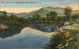 Ammonoosuc River, White Mountains, New Hampshire - Linen