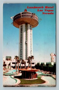 Las Vegas NV- Nevada, Landmark Hotel, Chrome c1973 Postcard