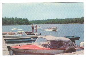 Ski on lake Sequoyah's,Cherokee Village,Hardy,Arkansas,40-60s