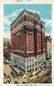 Postcard Hotel McAlpin New York 1931