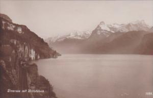 Switzerland Luzern Urnersee mit Urirotstck Photo