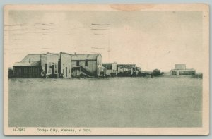 Dodge City KS As It Was in 1974~Cowboys, Freighters & Hunters Leading Citizens
