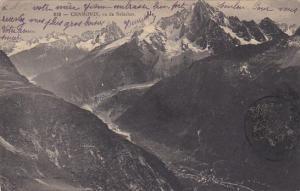 France Chamonix vu de Belachat