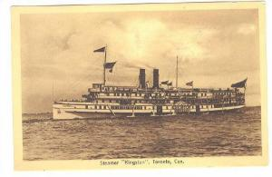 Steamer/Ship Kingston, Toronto, Canada, PU-1914