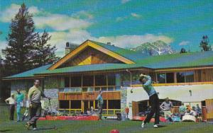 Canada Golf Clubhoiuse and First Tee Jasper Pak Lodge Alberta