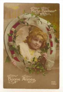 RP  Porte-Bonheur, Bonne Annee, Child & Horseshoe, 00-10s
