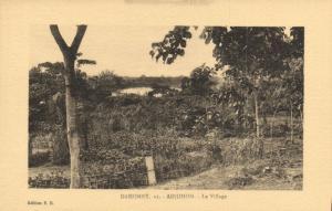 CPA Dahomey Afrique - Adjohon - Le Village (86811)