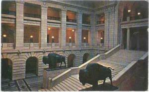The Grand Staircase, Manitoba Legislative Building, Winnipeg, Canada, Pre-zip