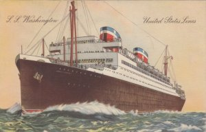 United States Line Ocean Liner S.S. Washington , 30-40s