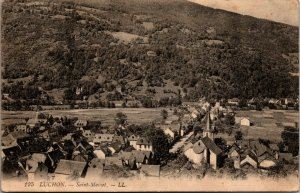 Vintage postcard, RPPC, Luchon, SAINT MAMET - FRANCE - COUNTRY SIDE FARM