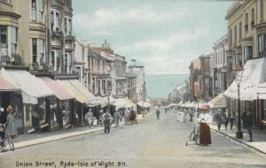 RYDE , Isle of Wight , England , 00-10s ; Union Street